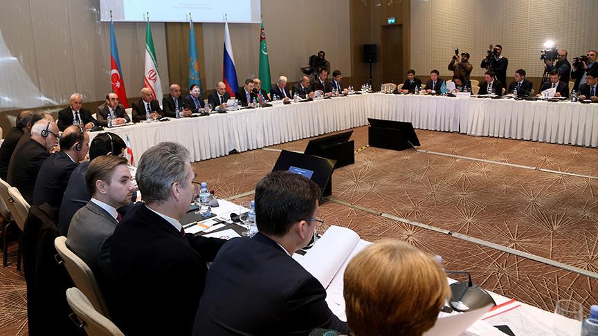 Hazar'a kıyısı olan ülkeler Bakü'de toplandı