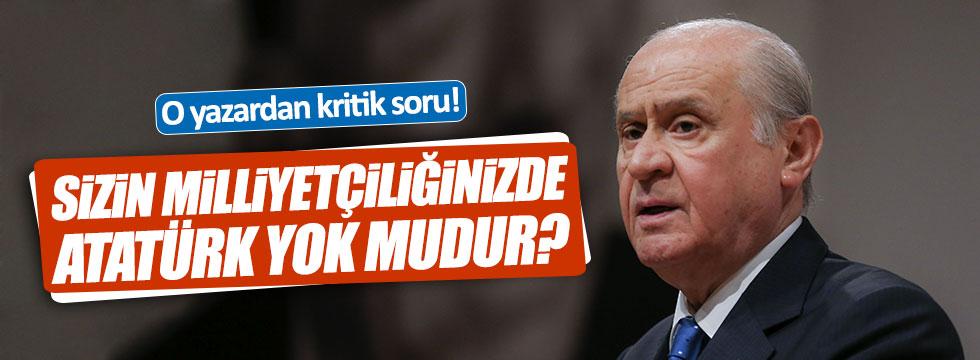 Coşkun'dan Bahçeli'ye: Sizin milliyetçiliğinizde Atatürk yok mudur?