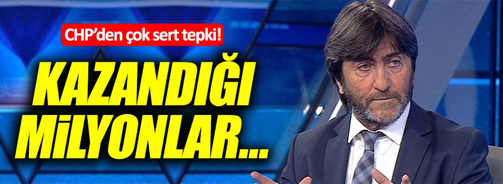 CHP'den Rıdvan Dilmen'e sert tepki