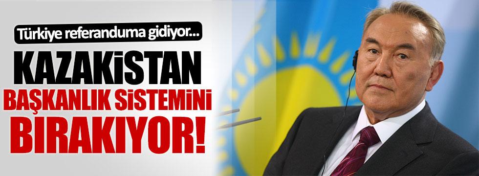 Türkiye referandumuna giderken Kazakistan Başkanlıktan vazgeçiyor