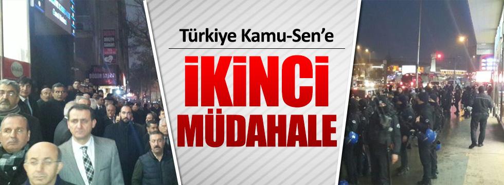 Türkiye Kamu-Sen'e ikinci müdahale!