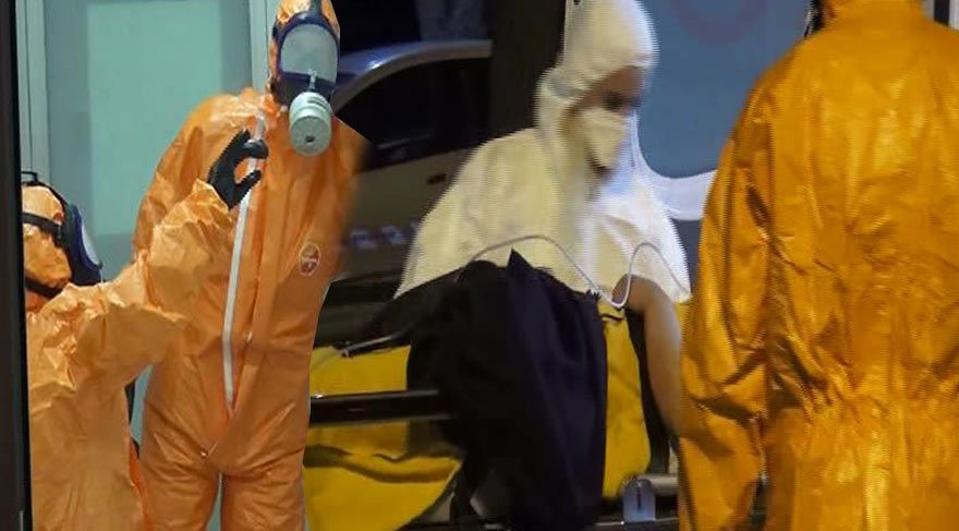 İstanbul'da kimyasal madde paniği
