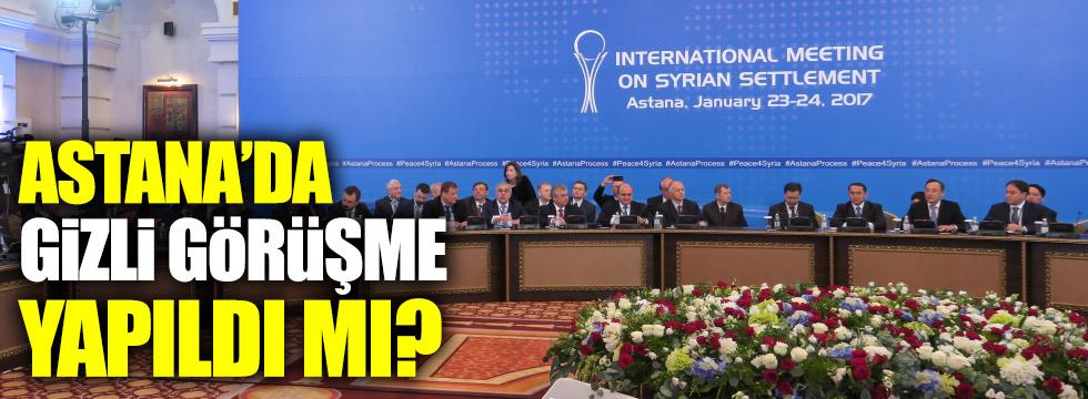 Astana'da gizli görüşme yapıldım mı?