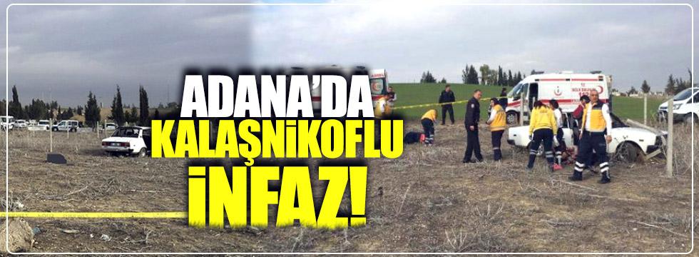 Adana'da kalaşnikoflu infaz