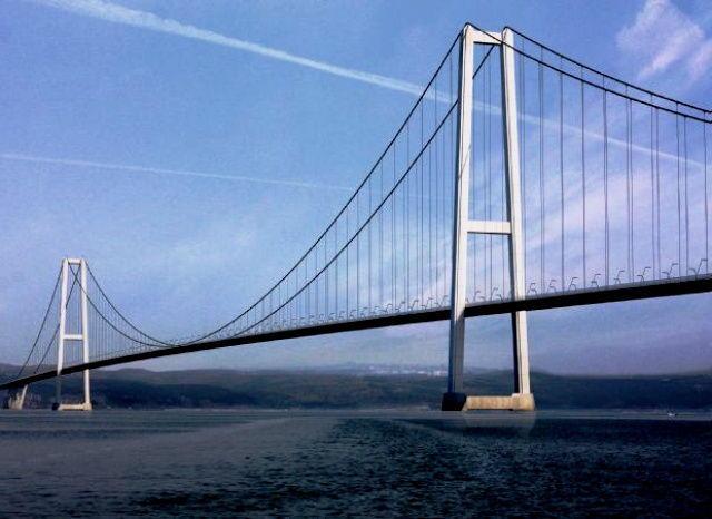 1915 Çanakkale Köprüsü için 4 teklif