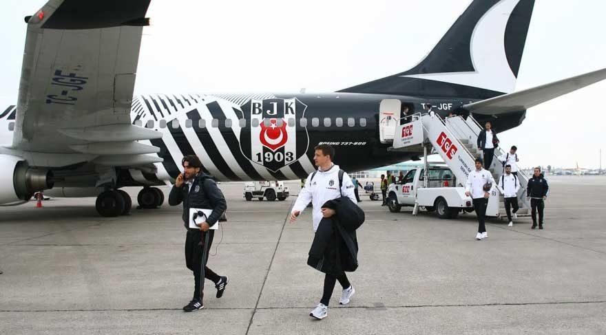 Beşiktaş uçağı Kayseri'ye inemedi