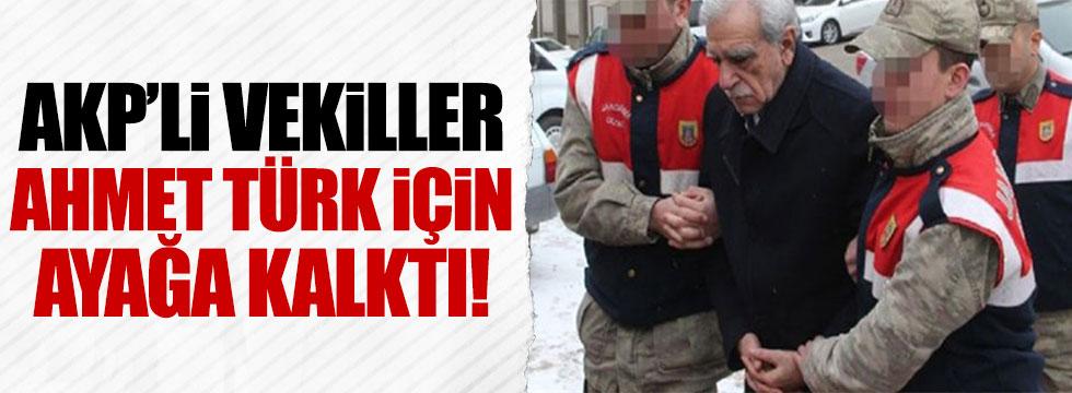 AKP'li vekiller, Ahmet Türk'ün kelepçeli götürülmesinden rahatsız oldu