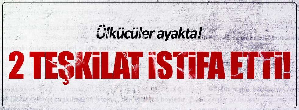 MHP'de Doğanhisar ve Alucra teşkilatları istifa etti