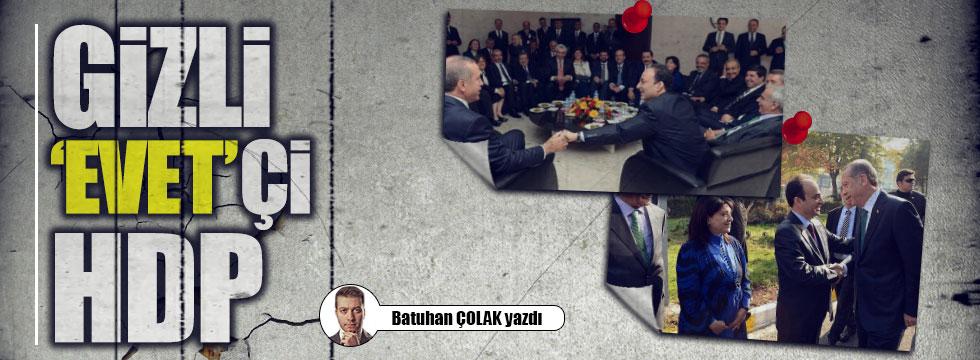 Gizli 'Evet'çi HDP!