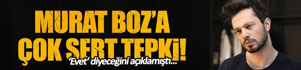 CHP'den Murat Boz'a çok sert tepki