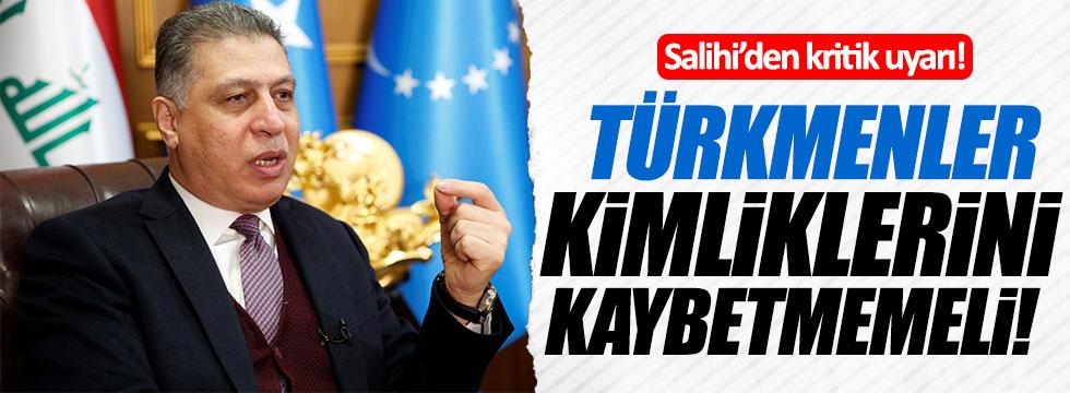 Erşat Salihi: Türkmenler kimliklerini kaybetmemeli