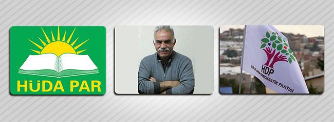 HDP, PKK ve Hüda-Par referandumda 'evet' diyecek!
