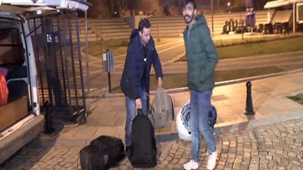 Silivri'den kaçan mülteciler yakalandı