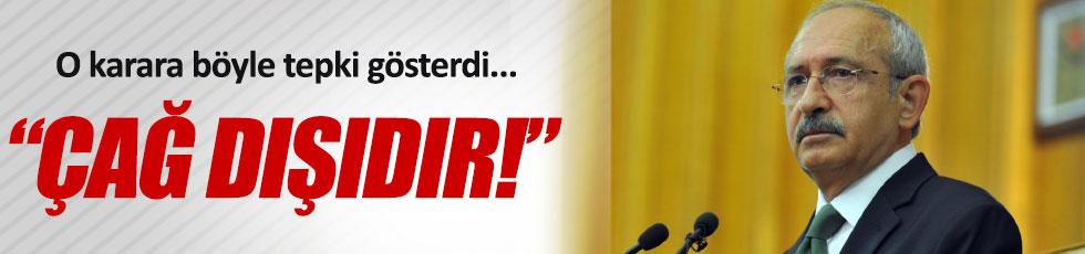 Kılıçdaroğlu'ndan, Trump'a tepki