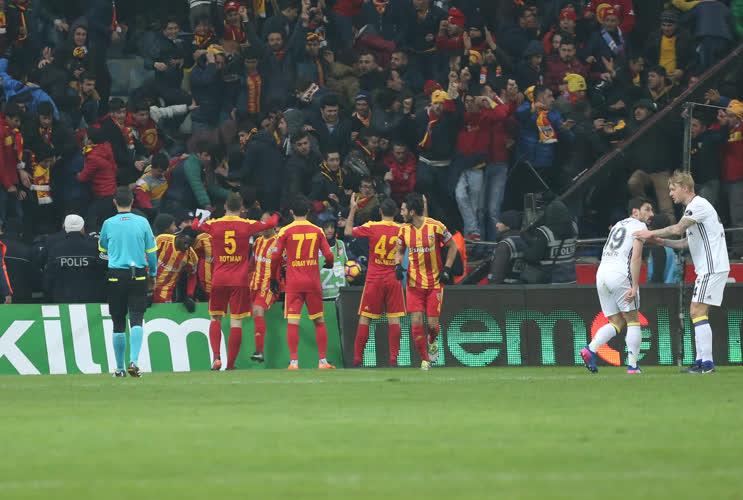 Kayserispor 4-1 Fenerbahçe / Maç Özeti