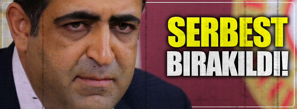HDP'li, Baluken tahliye edildi