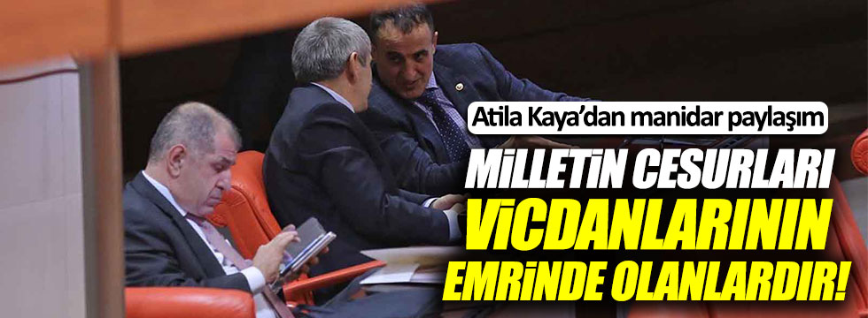 Atila Kaya'dan MHP Genel Merkezi'ne gönderme