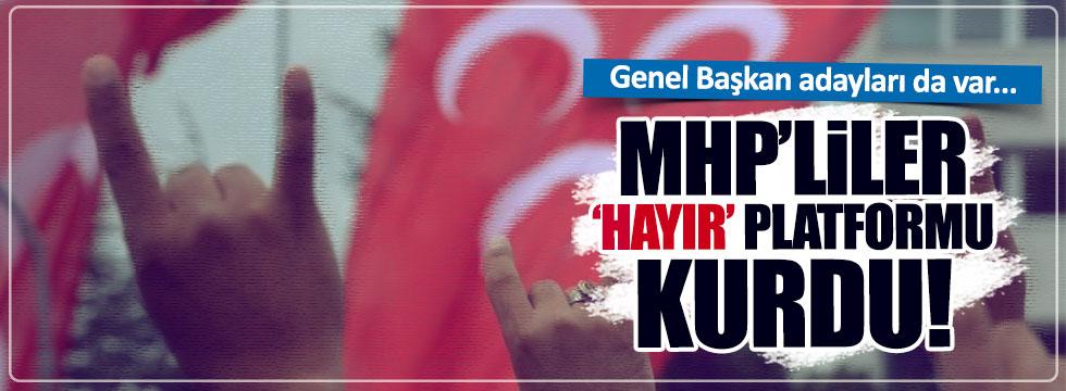 """""""Türk Milliyetçileri 'Hayır' Diyor"""""""