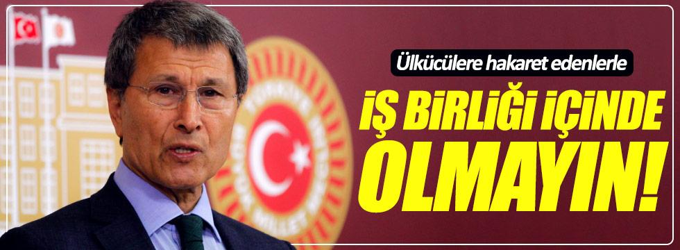 Halaçoğlu'dan MHP'li vekillere çağrı