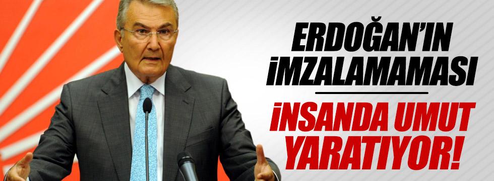 """""""Erdoğan'ın imzalamaması insanda umut yaratıyor"""""""
