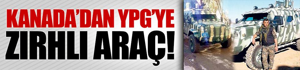 Kanada'dan YPG'ye zırhlı araç!