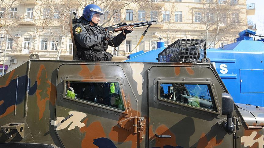 Azerbaycan'da teröristlere darbe!