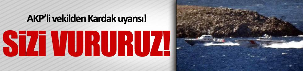 AKP'li Kocabıyık'tan tehdit: Sizi vururuz