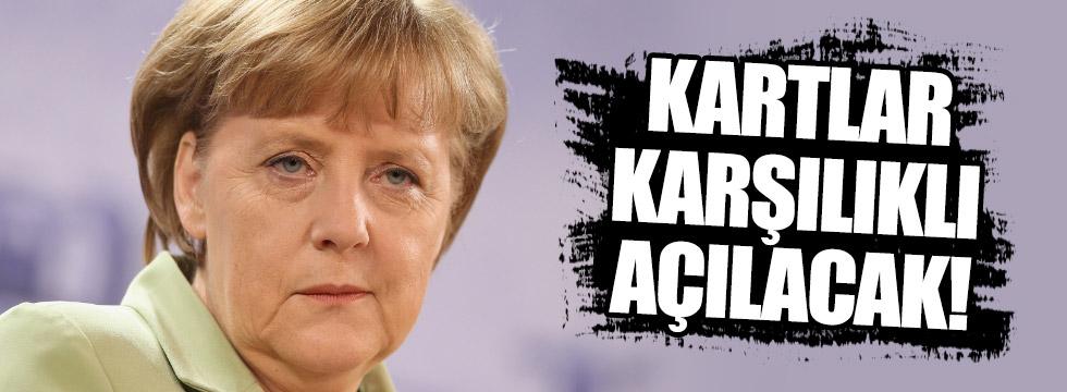 Merkel, Türkiye'ye geliyor