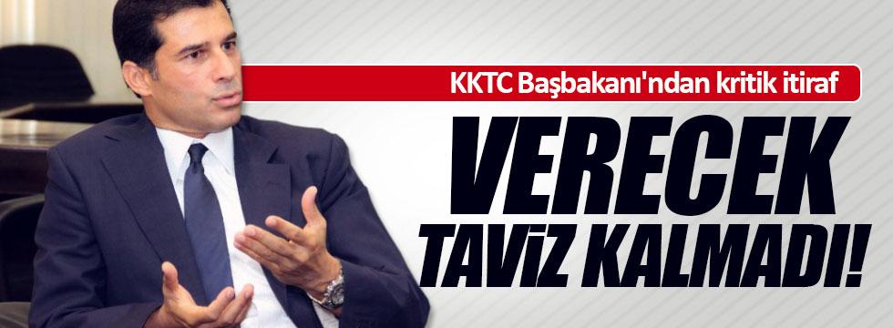 KKTC Başbakanı'ndan müzakere isyanı
