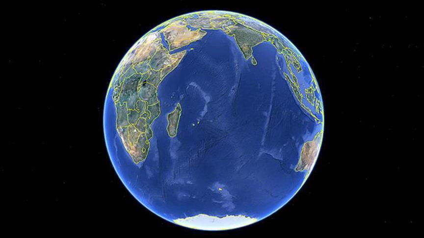 Mauritius'un altından kayıp kıta çıktı