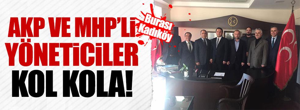 AKP Kadıköy İlçe Teşkilatı'ndan MHP'ye manidar(!) ziyaret