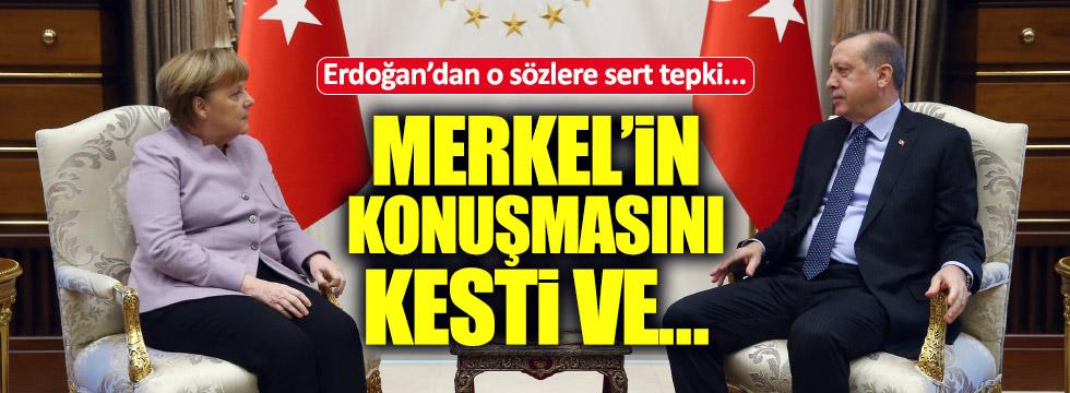 Merkel ve Erdoğan'dan ortak açıklama