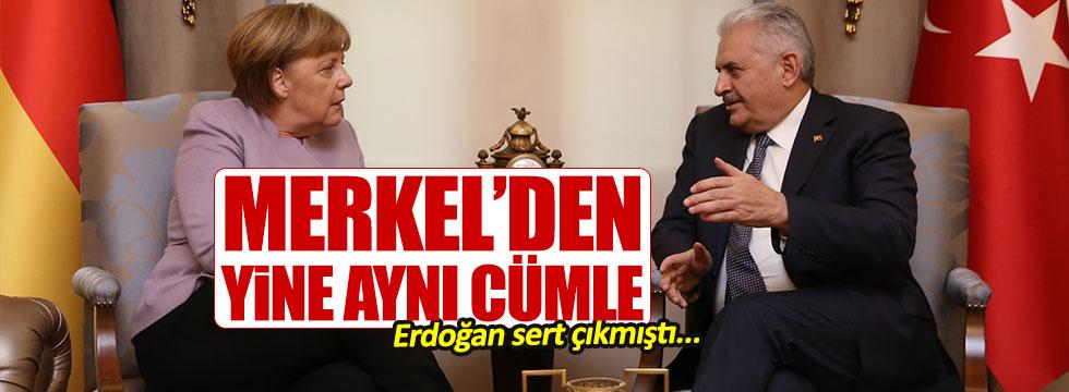 Merkel yine 'İslamcı terör' dedi