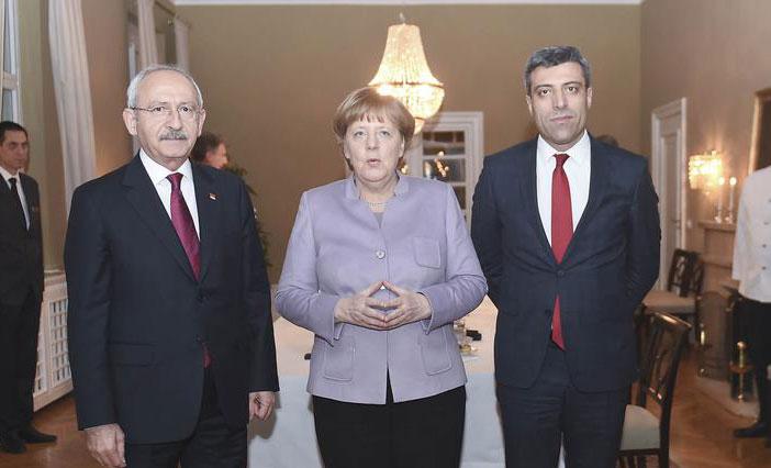 Merkel, Kılıçdaroğlu ile görüştü