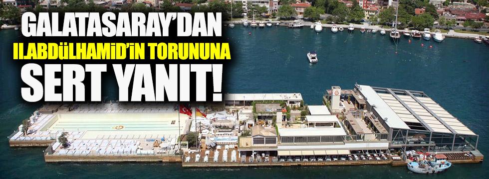 """Galatasaray Adası 60 yıldır tapulu malımızdır"""