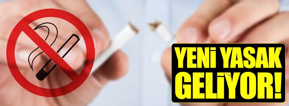 Sigaraya '5 metre' yasağı geliyor