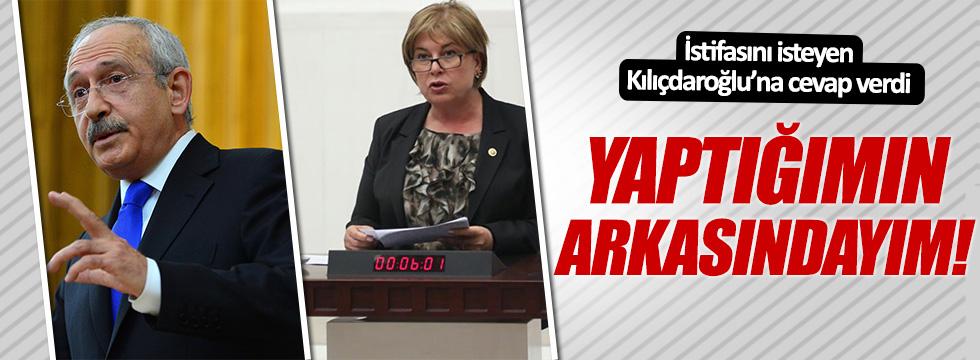 CHP'li Elif Doğan Türkmen: Yaptığımın arkasındayım