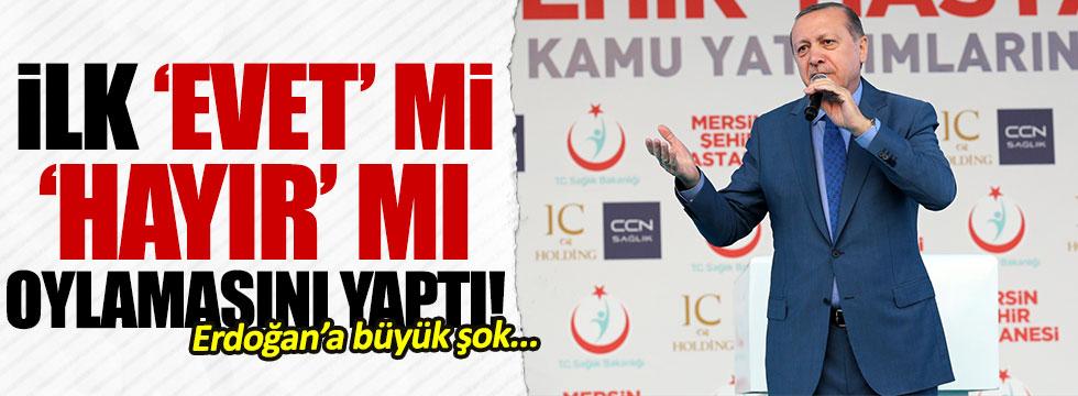 Erdoğan 'evet' mi 'hayır' mı diye sordu, cevap karşısında şok oldu!