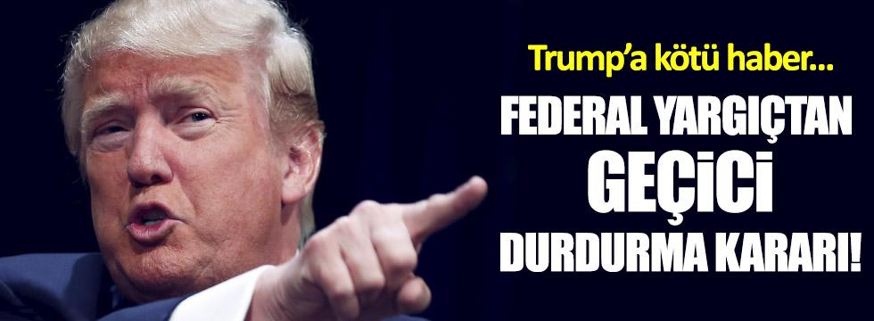 Trump'a kötü haber!