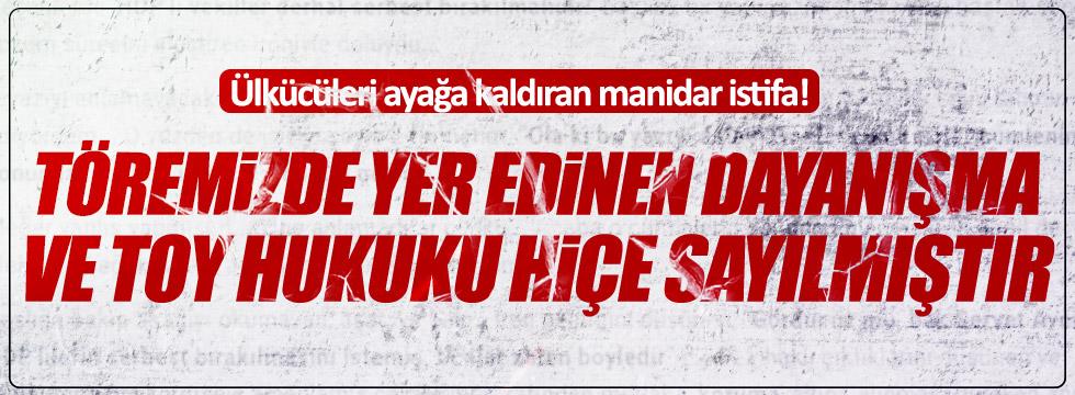 MHP Hüyük teşkilatı istifa etti