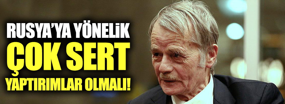 """Kırımoğlu: """"Rusya'ya yönelik çok sert yaptırımlar olmalı!"""""""