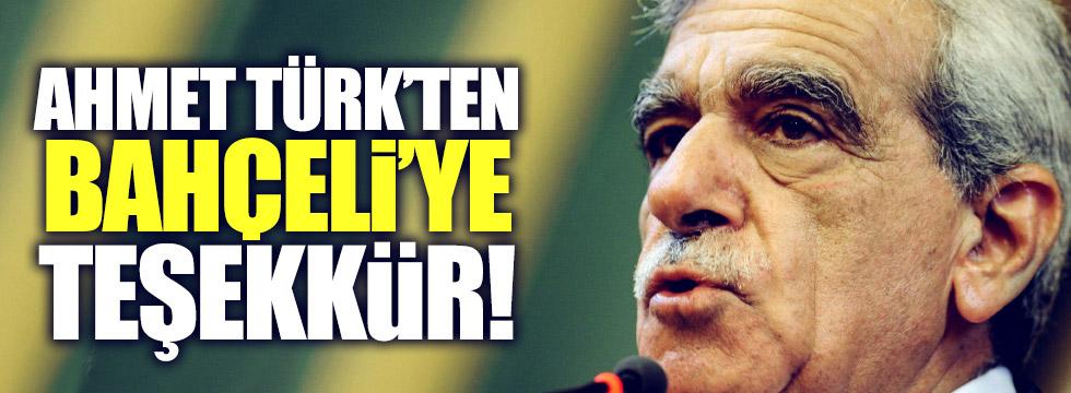 Ahmet Türk'ten, Bahçeli açıklaması