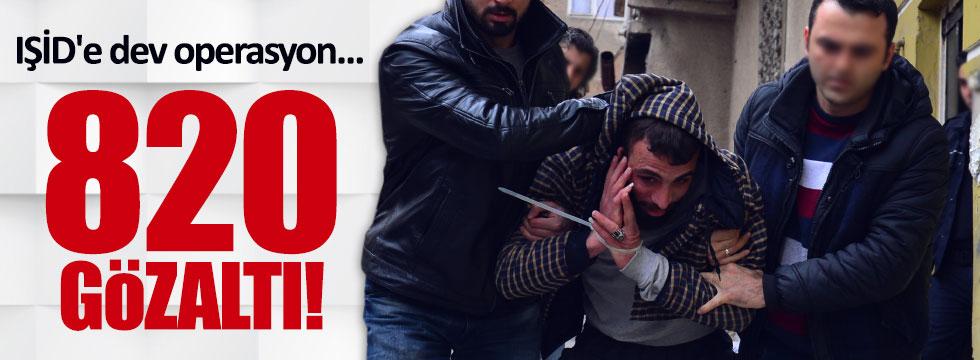 29 ilde IŞİD'e dev operasyon