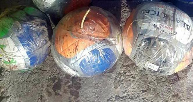 Topun içine bomba yerleştirdiler