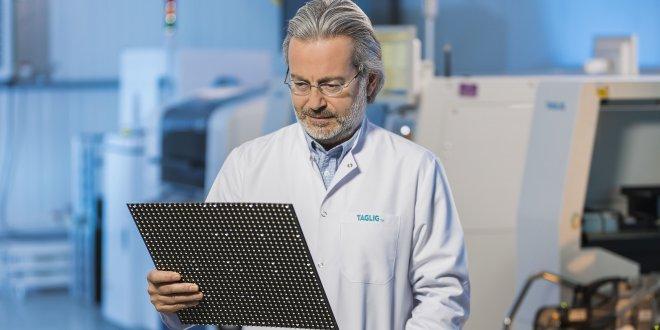 'Taglig', ürettiği yerli LED ekranları  dünyaya satacak
