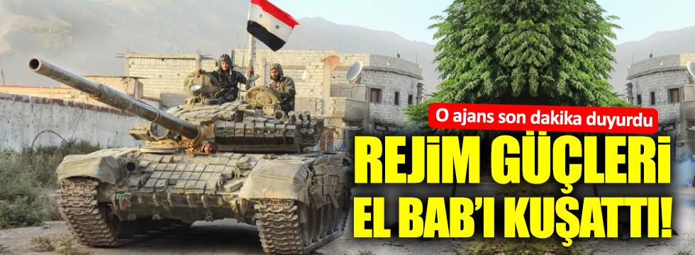 Rejim güçleri El Bab'ı kuşattı!
