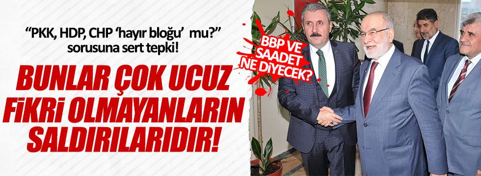 BBP ve Saadet Partisi'nden referandum açıklaması