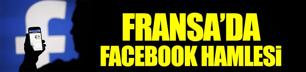 Fransa'dan Facebook hamlesi