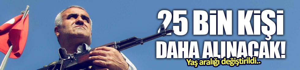 25 bin genç korucu alınacak