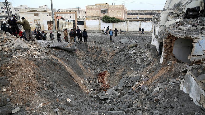 İdlib'e 10 hava saldırısı: 21 ölü
